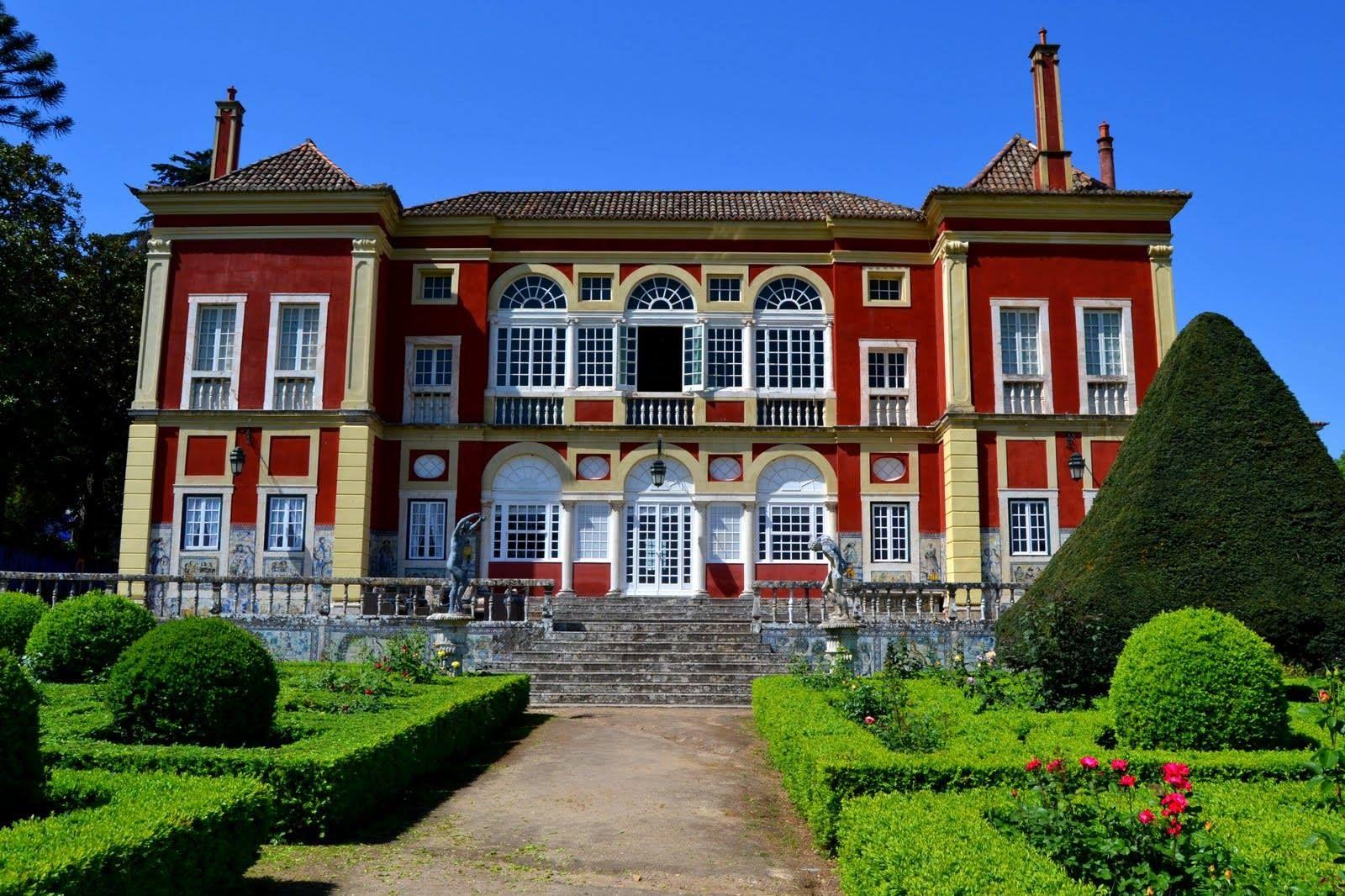 jardim marques da fronteira Palácio Portugal
