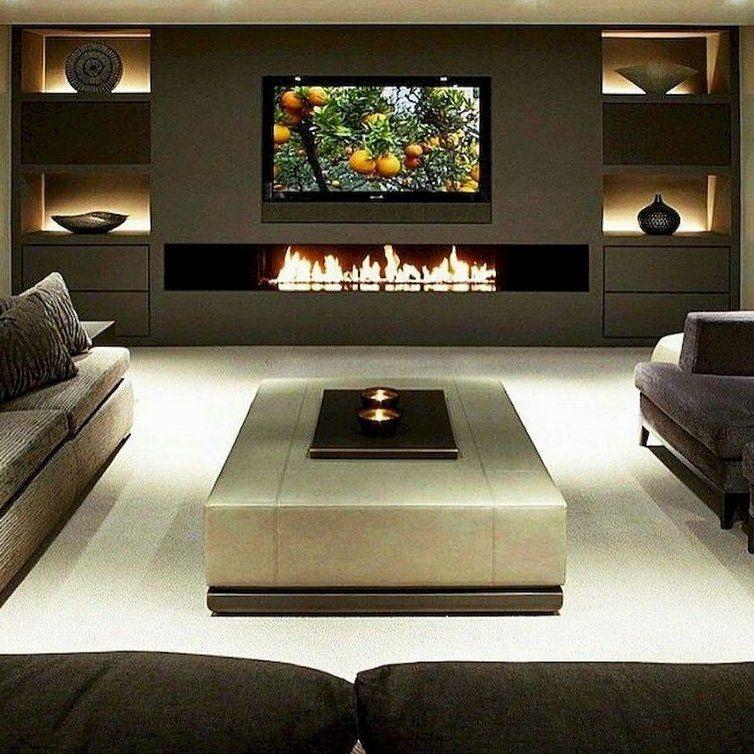 65 Stunning Diy Living Room Fireplace Ideas Page 52 Of 65 Lounge Ideas Living Rooms Fi Fancy Living Rooms Living Room Decor Fireplace Luxury Living Room