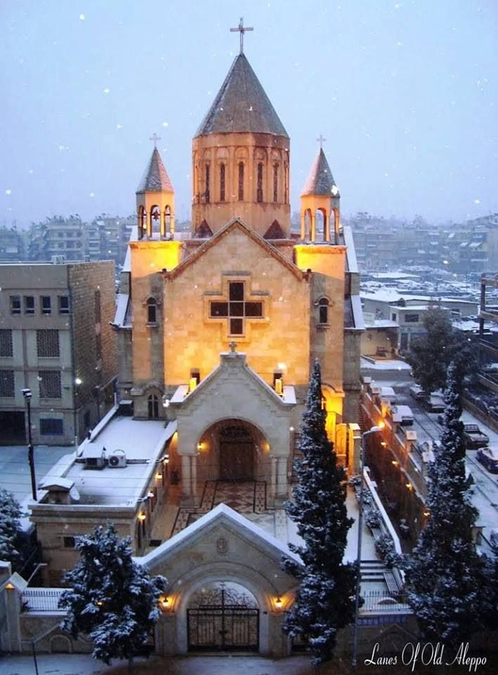 Churches of Aleppo | Aleppo, Cathedral church, Place of