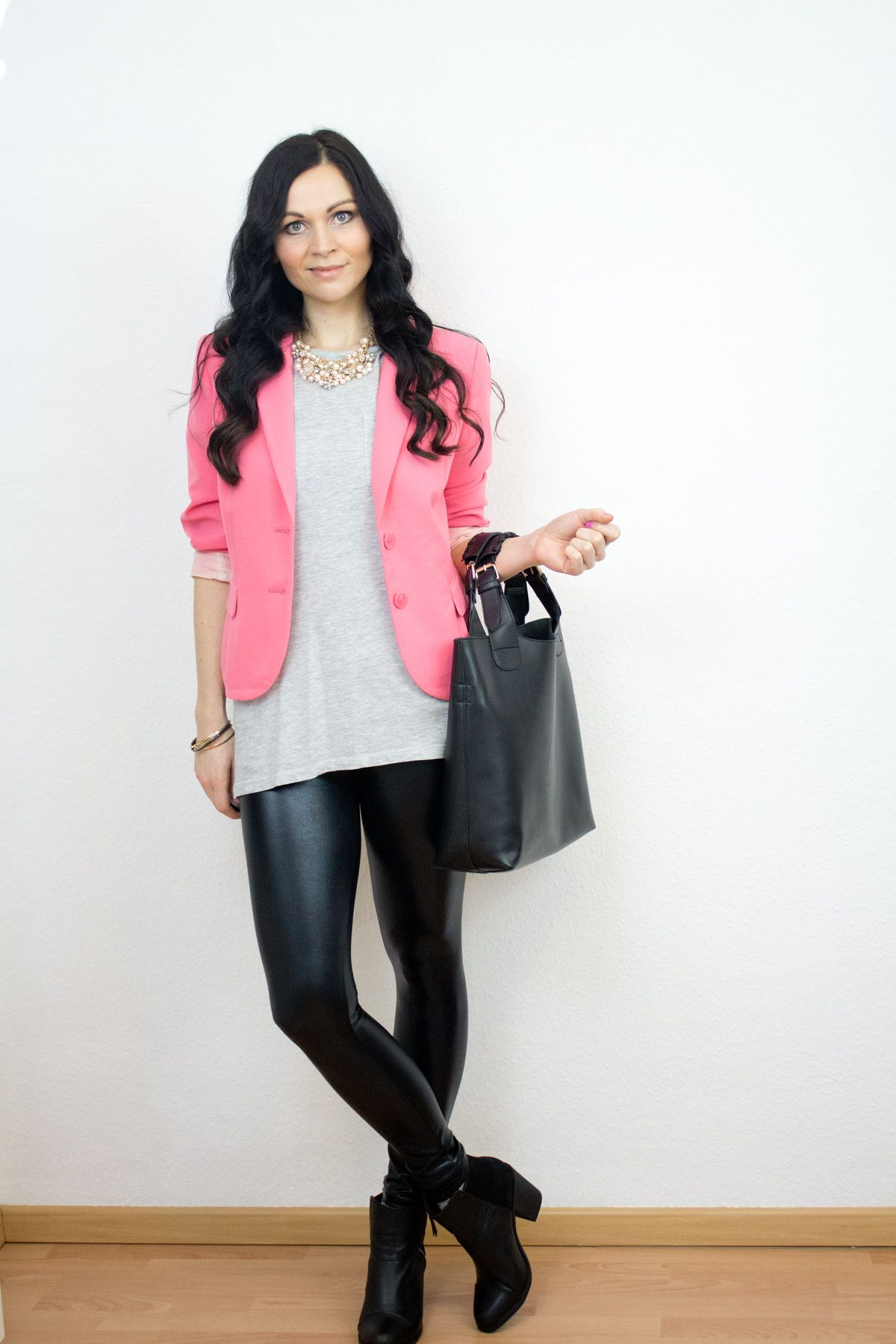 outfit: mix of materials - kleidermädchen: fashion, beauty
