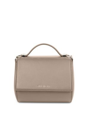 GIVENCHY Pandora Box Mini Textured Leather Chain Crossbody Bag. #givenchy #bags #shoulder bags #hand bags #leather #crossbody #
