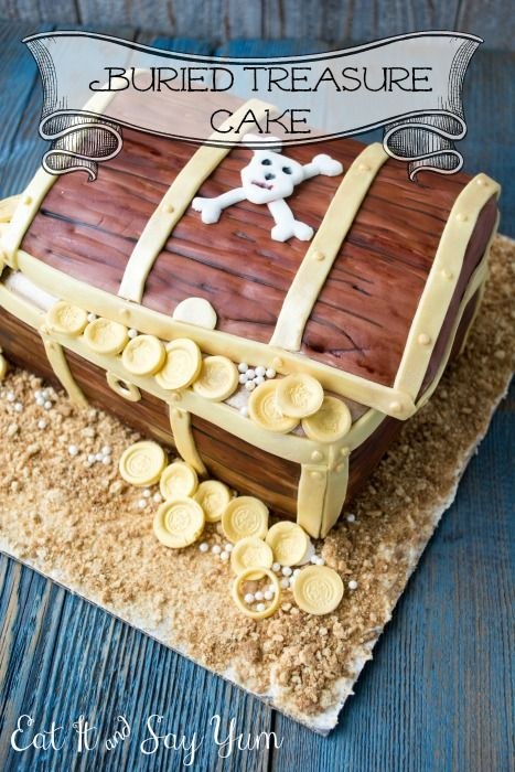 Buried Treasure Pirate Cake from www.eatitandsayyum.com