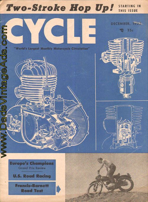 1953 Francis-Barnett Motorcycle Road Test – Roadster in the Rough