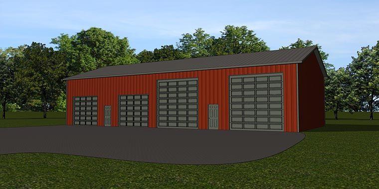 Garage Plan 50668 Elevation Garage Plan Garage House Plans Garage