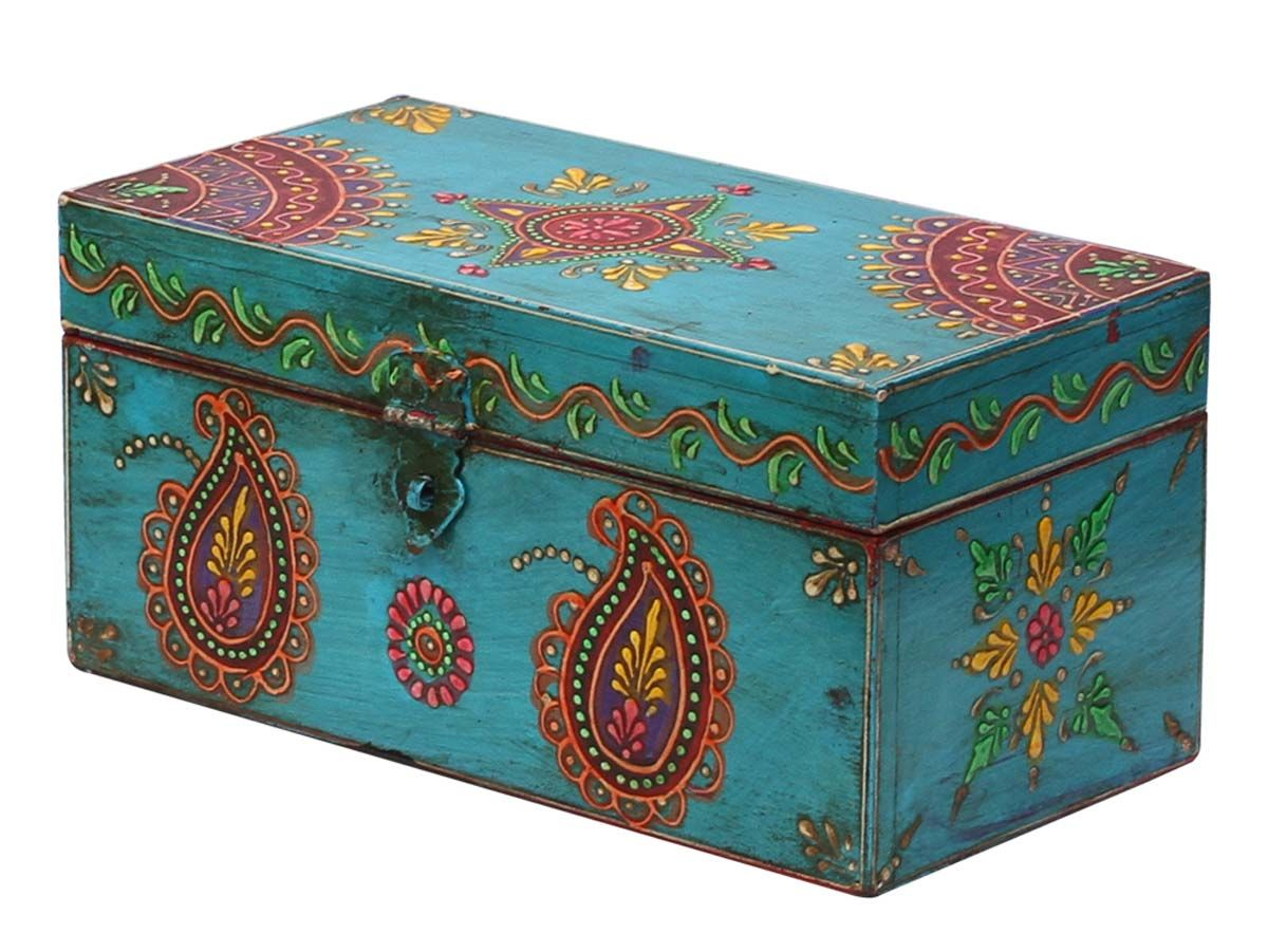 Bulk wholesale handmade 95 blue wooden bangle box