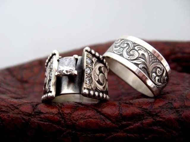Bob Berg Is Amazing Western Wedding Rings Gothic Wedding Rings Fashion Rings