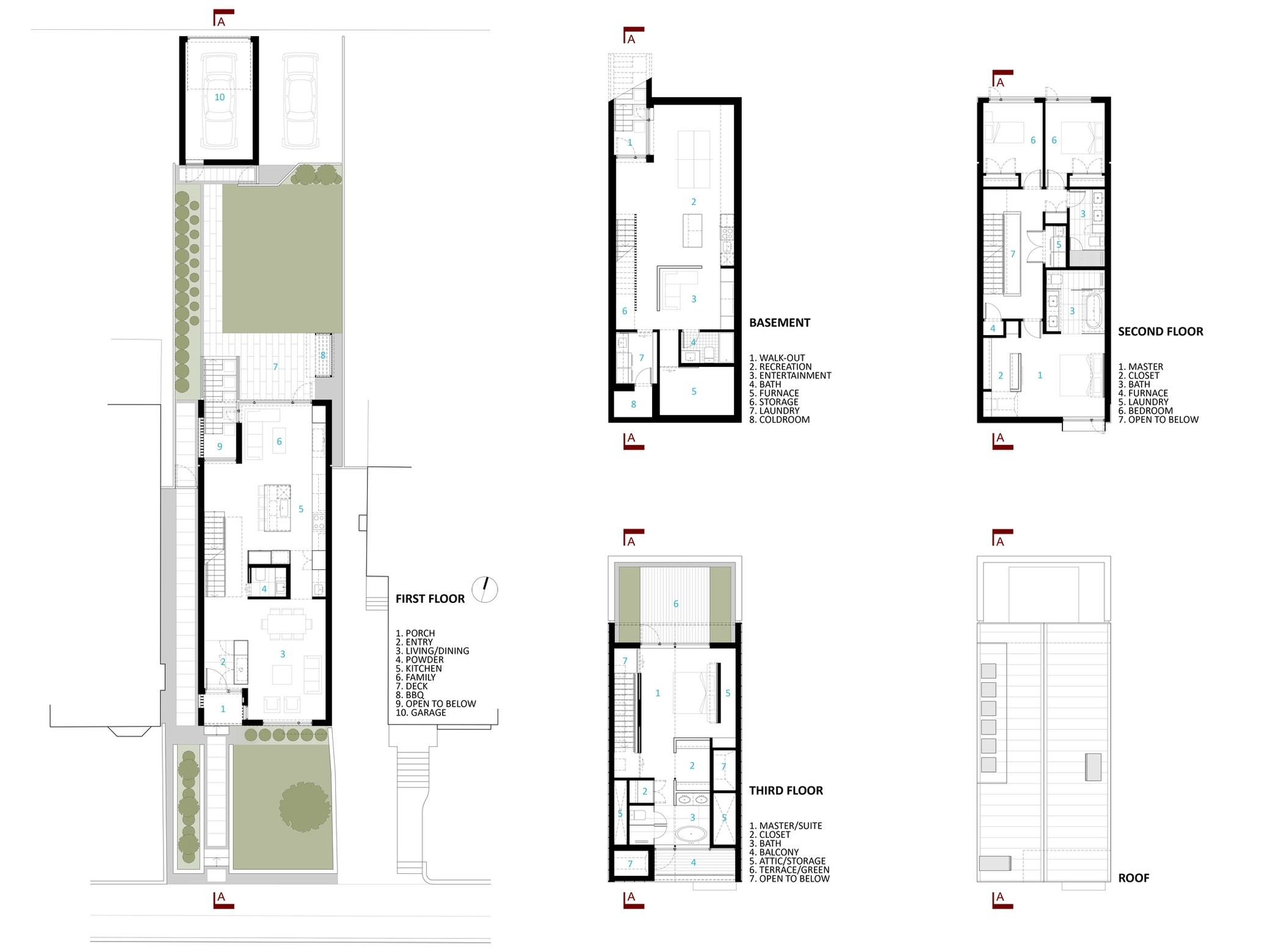 Bedford Park House Mehdi Marzyari Architects Arch2o Com Planos De Casas Arquitectos Plano De Arquitecto