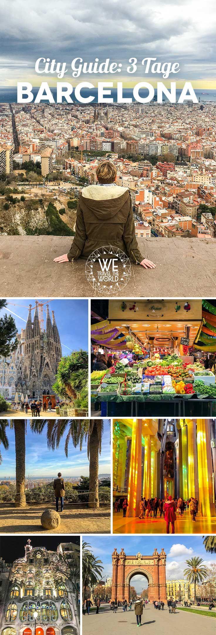 Barcelona in 3 Tagen u2013 City Guide
