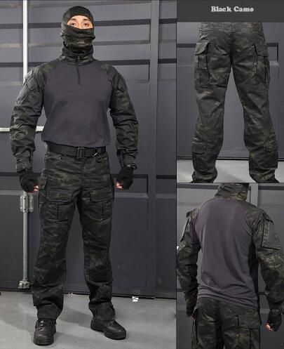 88a86898c317f Military Tactical shirt + pants Multicam Uniforms Uniform Airsoft Paintball Army  Hunting Suit LY0106