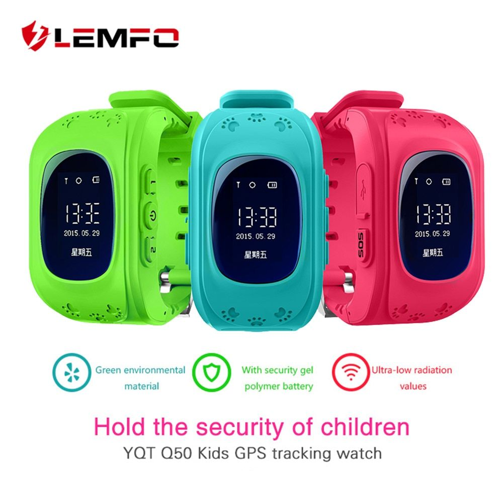 Hot q50 gps kids watches baby smart watch for children sos
