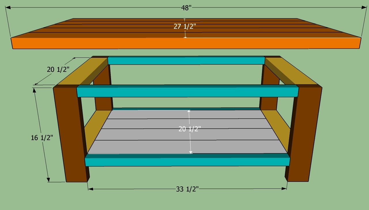 Best How To Build A Coffee Table Build A Coffee Table Diy 400 x 300