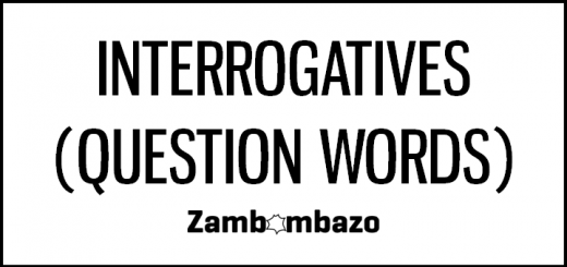 Interrogatives (Question Words)