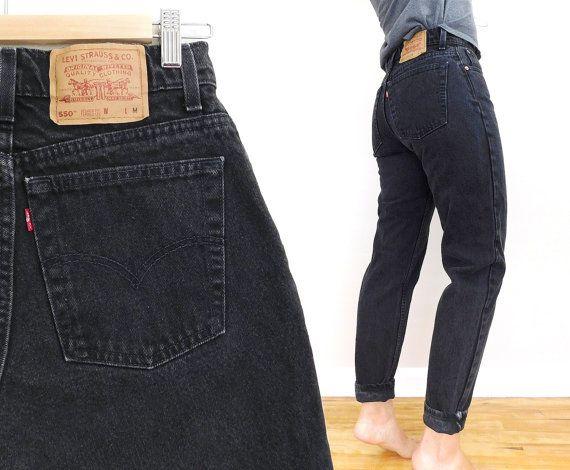 high waist levi's 550 jeans - 8 35gt5QAKI