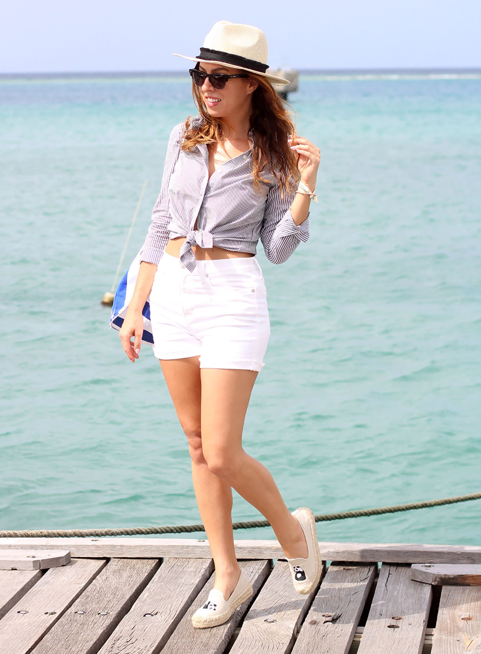 80128af2d1e Sydne Style shows fourth of july outfit ideas for a boat party