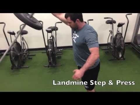 ben bruno's totalbody landmine circuit  muscle building