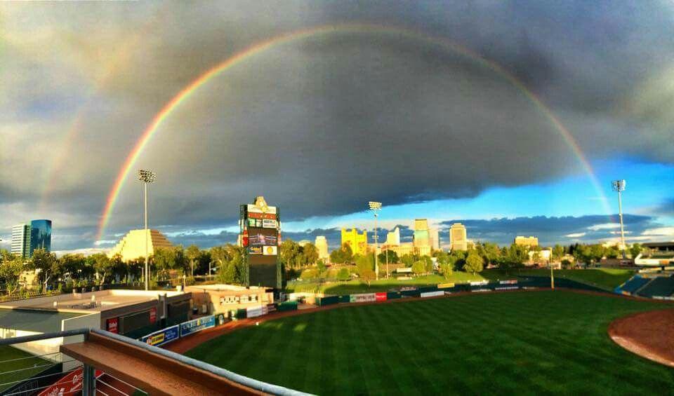 Raley Field Rainbow!
