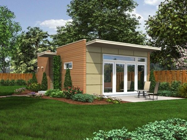 Little Modern House Prefab Unit See Site For More Little Houses Just Like This One In Various Sma Backyard Cottage Mother In Law Apartment Prefab Buildings