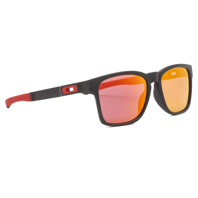 b7bb55389cb Oakley Scuderia Ferrari Catalyst Sunglasses Oo9272-07 Matte Black   Ruby  Iridium