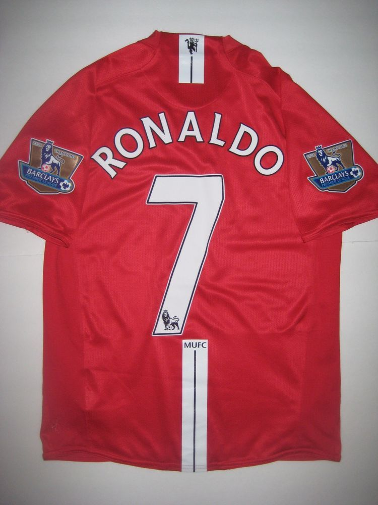newest 4d7cf c1f63 Details about 2006/2007 Nike Manchester United Cristiano ...