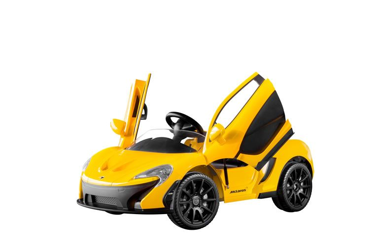Mclaren P1 Miniature Race Car For Kids Let S Them Zoom The Streets In Style Kids Luxury Racing Toys Mclaren P1 Go Karts For Kids Go Kart