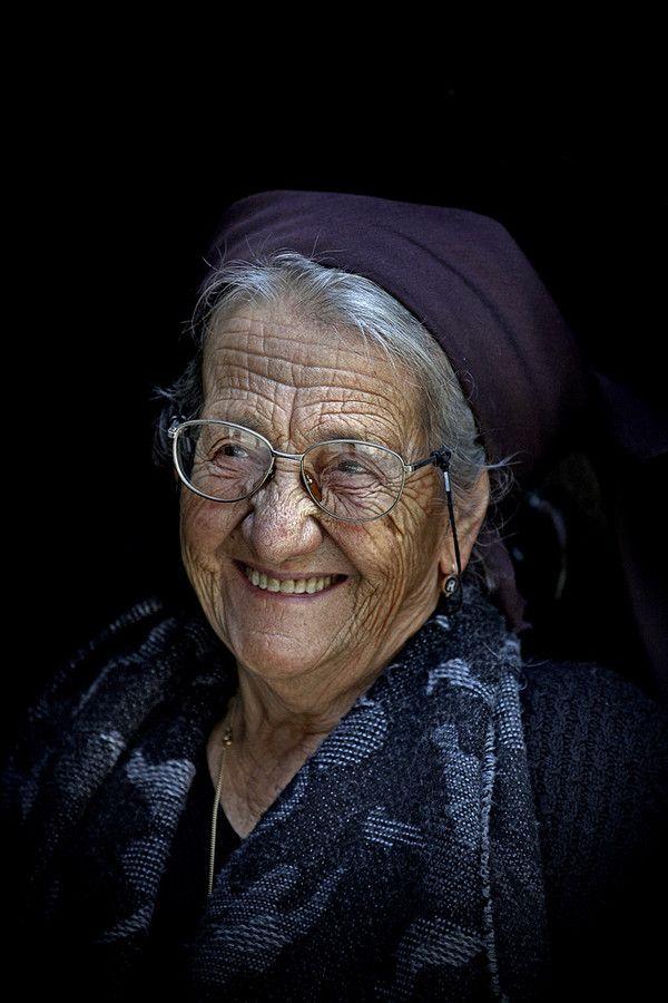 A sincere smile and old .. by Edmondo Senatore, via 500px
