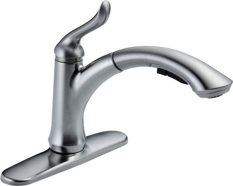 Delta 4353 Dst Kitchen Faucet Pull Out Kitchen Faucet Delta