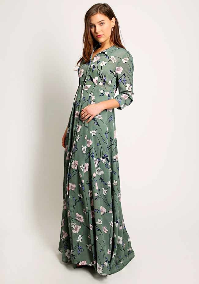 Jardin Floral Printed Maxi Dress