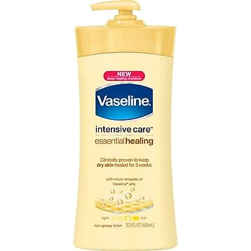 Vaseline Intensive Care Total Moisture Dry Skin Lotion 20 3 Oz Lotion For Dry Skin Healing Lotion Healing Dry Skin