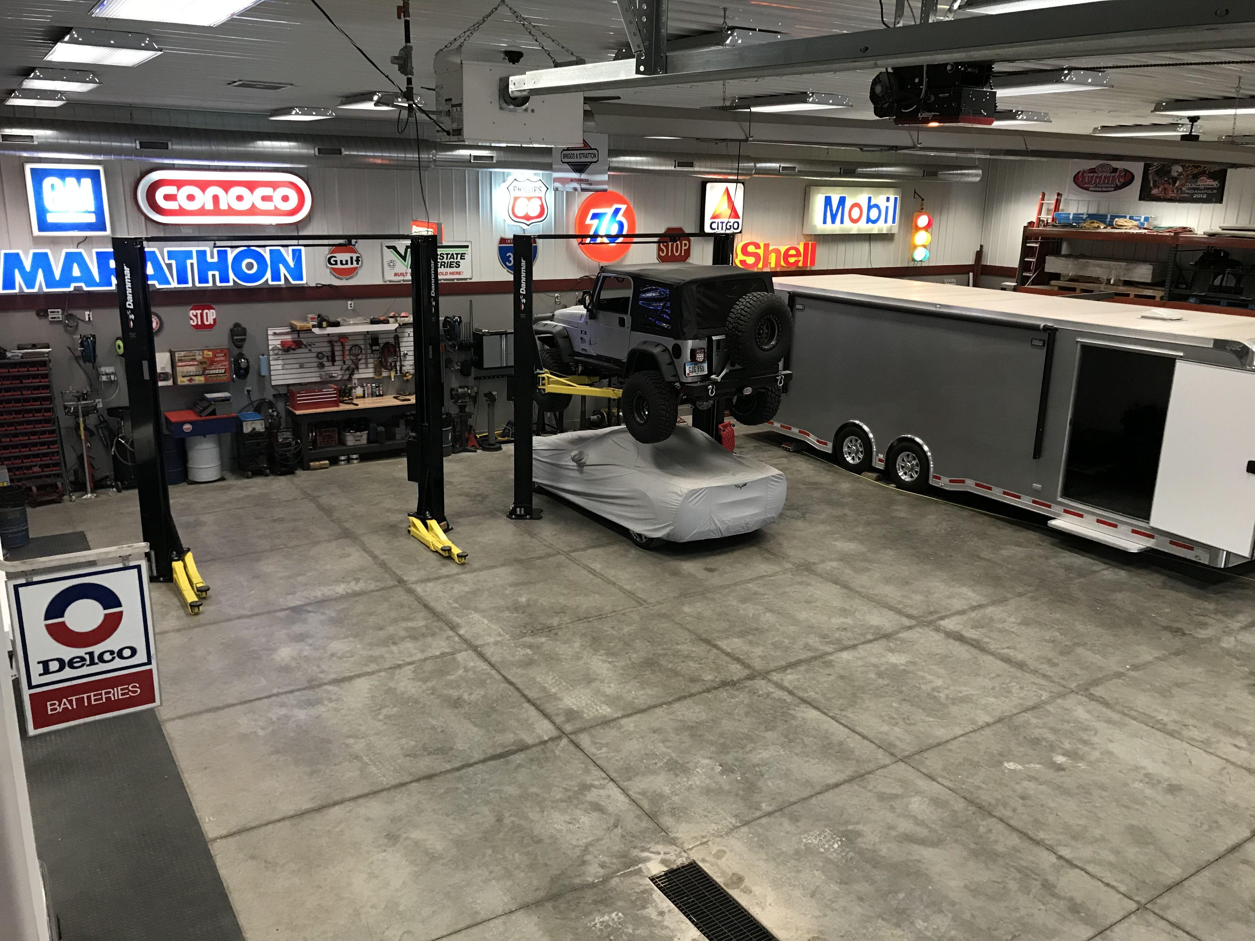 . Dream shop   Garage inspiration in 2019   Garage workshop  Garage