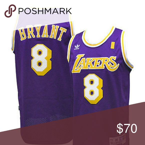 the latest 50c63 911d0 Kobe Bryant L.A. Lakers #8 Throwback Jersey #Officially ...