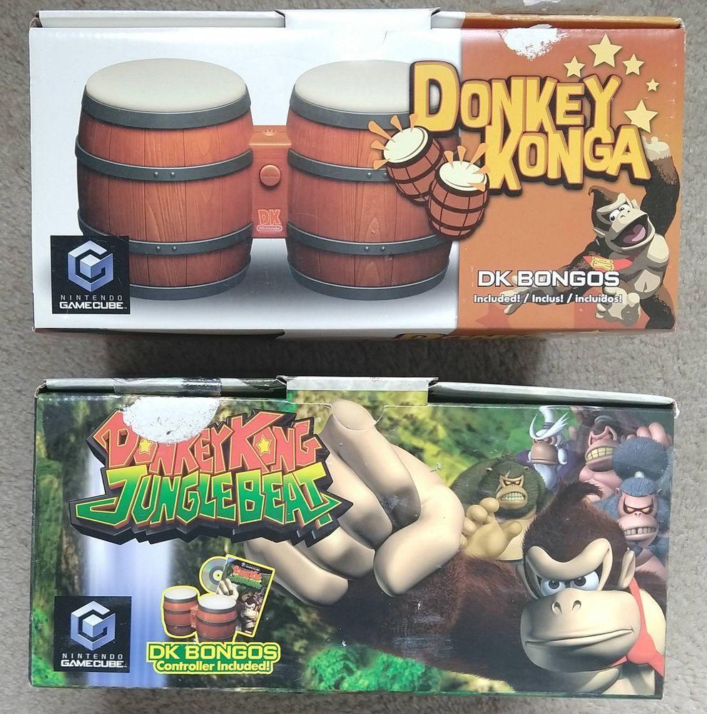 fe3801b1987 Donkey Kong Jungle Beat   Donkey Konga (w  2 Bongos) (Nintendo GameCube) NIB