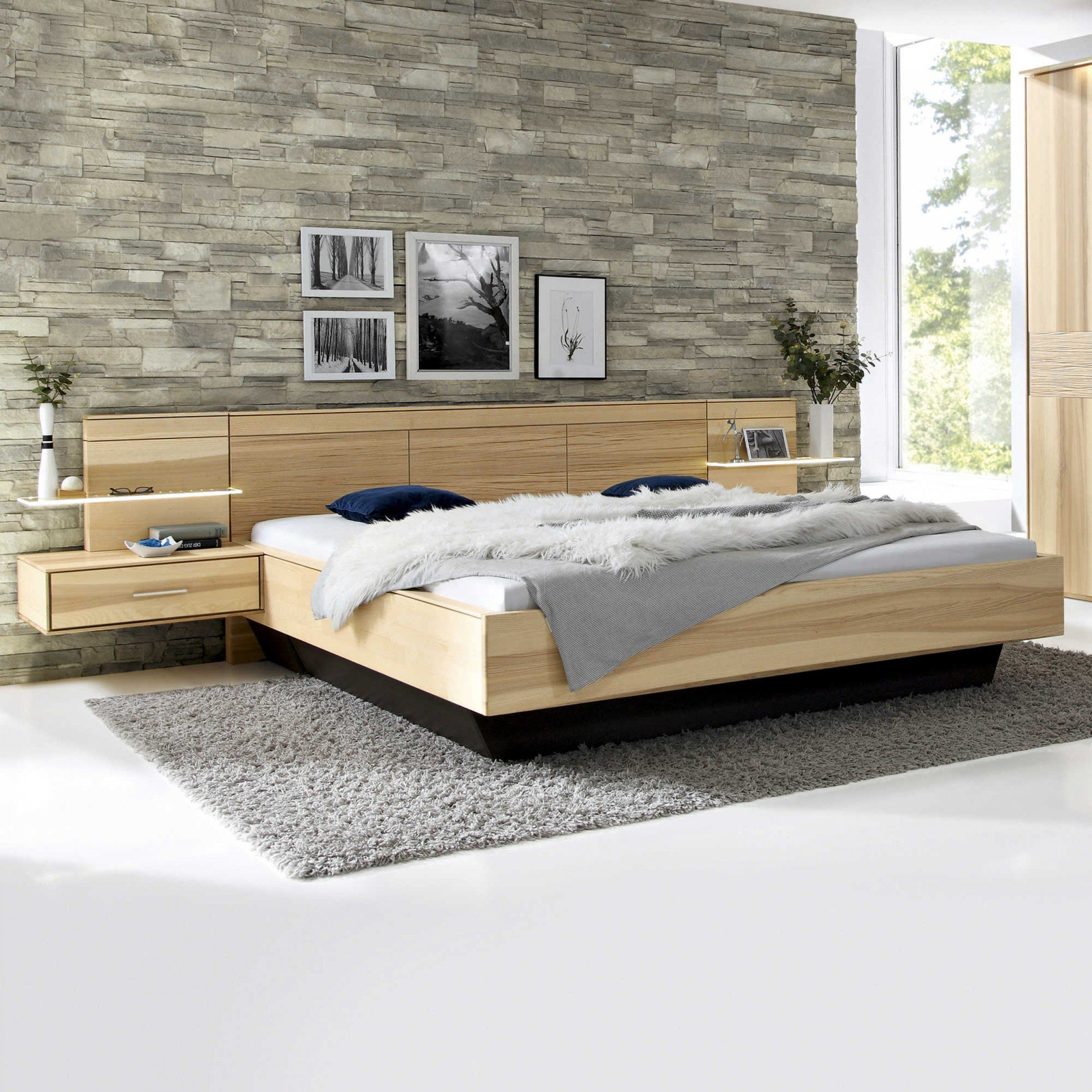 Thielemeyer Bett Mit Nachttischen Mira 4 0 180 X 200 Cm Massivholzbetten Betten Schlafzimmer Mobel Bett Ideen Bett Bett Modern