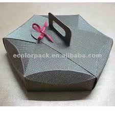 Image result for modelo de caixa de papelão com alcas