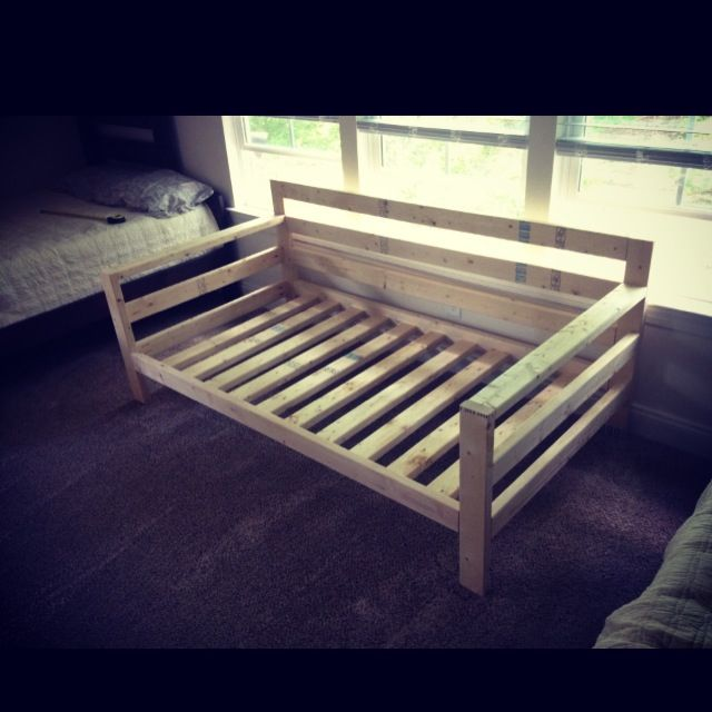 Diy Inspiration Daybeds: Ana-White Inspired Couch. Took Me 3 Hours To Make And Cost