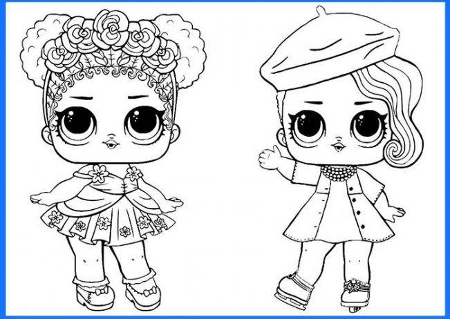 Dibujos Kawaii De Lol Surprise Para Colorear