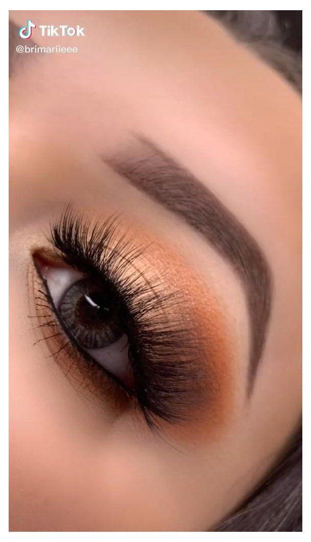 makeup eyes brown paso a paso