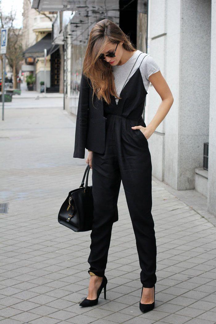 long black jumpsuit
