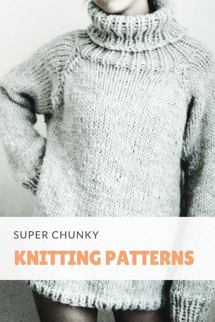stay warm and cozy with these free chunky knitting