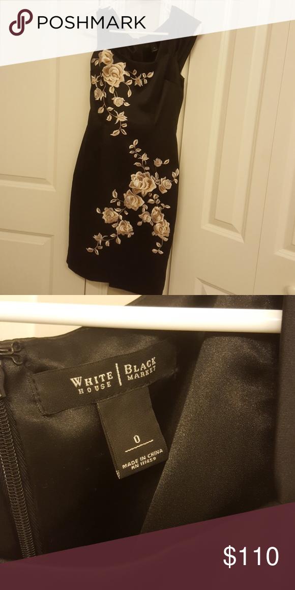 8a453e014301f4 WHBM Cocktail Dress Perfect dress for your next wedding White House Black  Market Dresses Midi Next