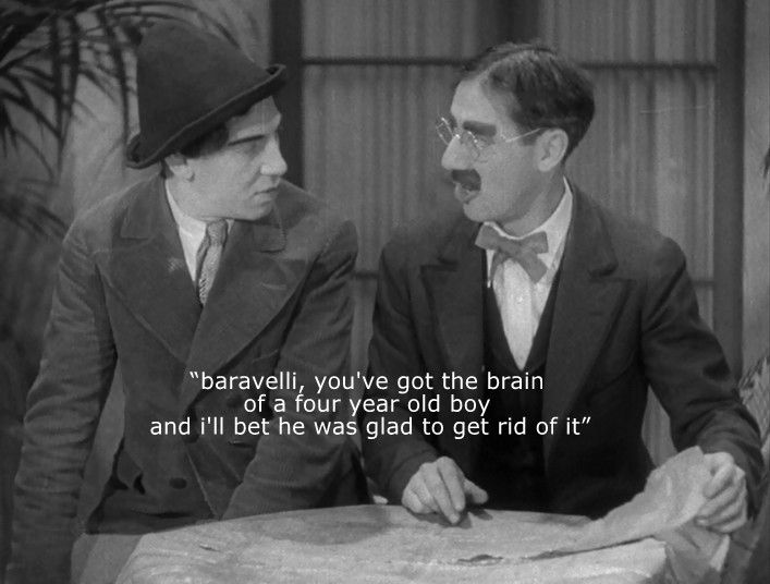 Groucho Marx To Chico Marx Marx Brothers Groucho Marx Classic Comedies