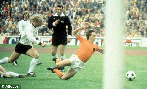 Johan #Cruyff 1974 World Cup final
