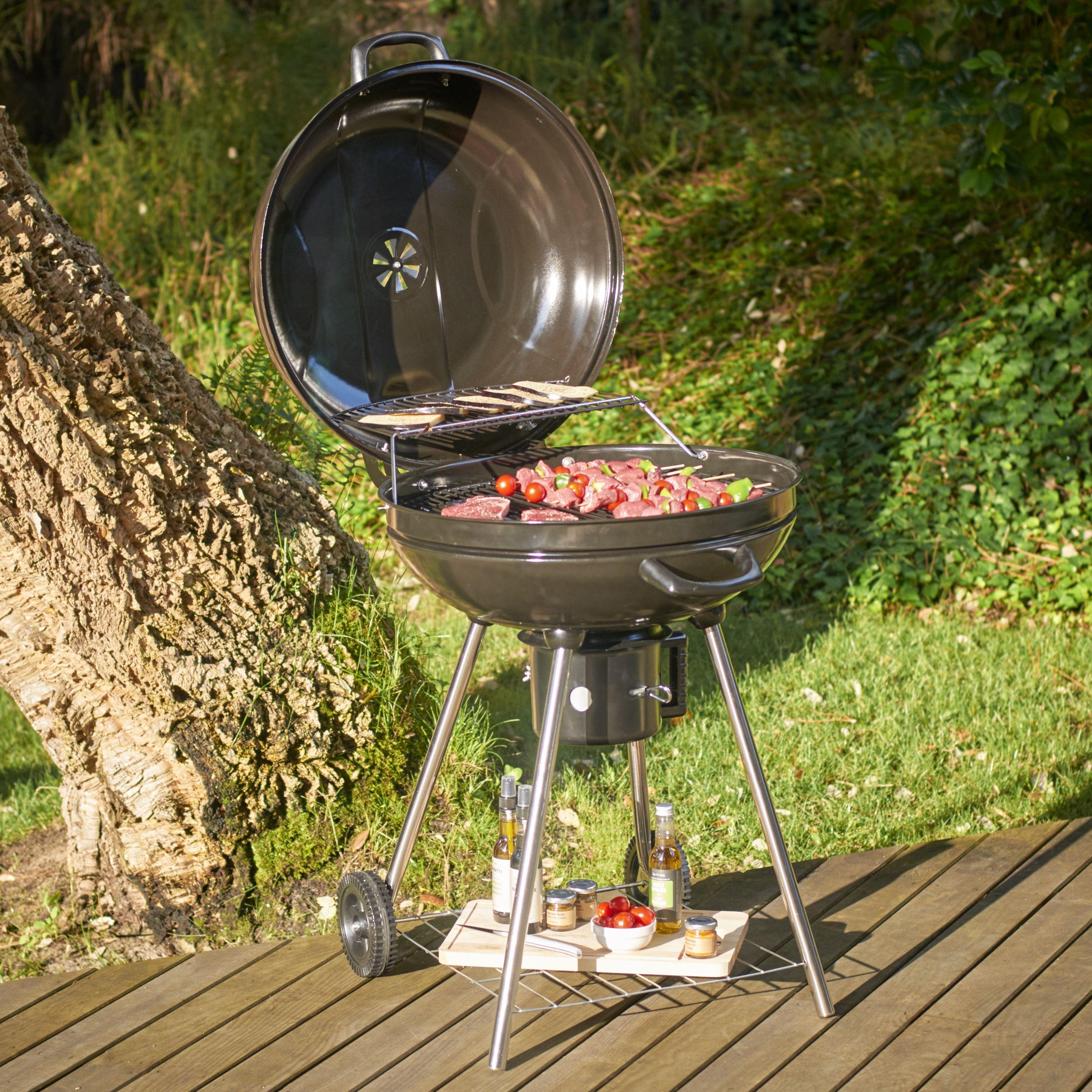 Barbecue A Charbon A Roulettes Fisher Barbecue Et Plancha Mobilier De Jardin Jardin Et Plein Air Gifi Barbecue A Charbon Mobilier Jardin Barbecue