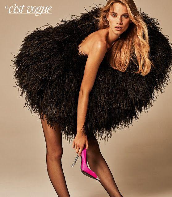 Rebecca Longendyke - Vogue Paris Fevereiro 2018
