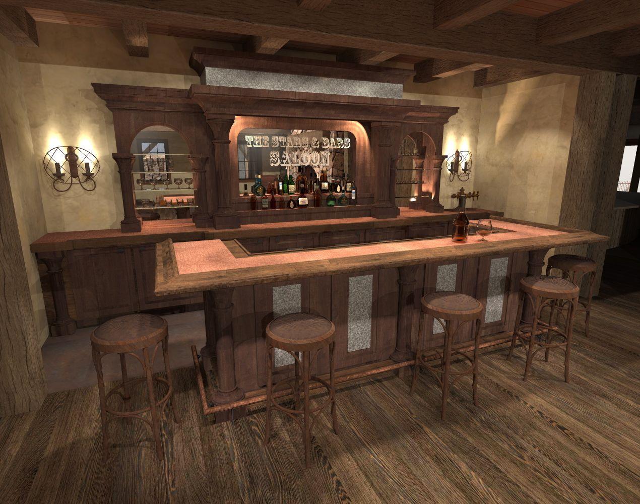 saloon concept pinterest men cave barn renovation and basements. Black Bedroom Furniture Sets. Home Design Ideas
