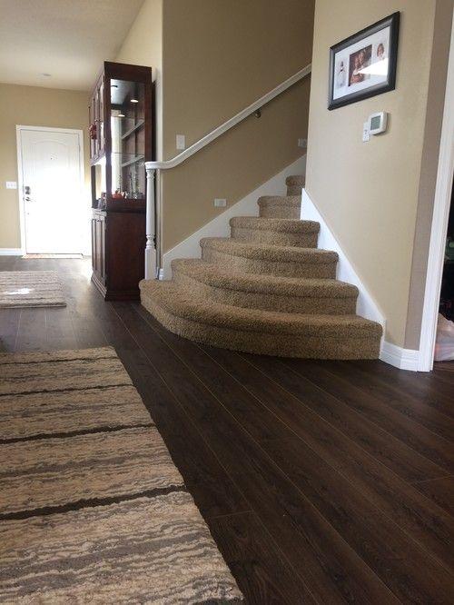 Coretec HD Smoked Rustic Pine from Houzz  Basement Floor