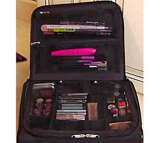 Qvc Makeup Organizer Beauteous Ultimate Cosmetic Organizerlori Greiner