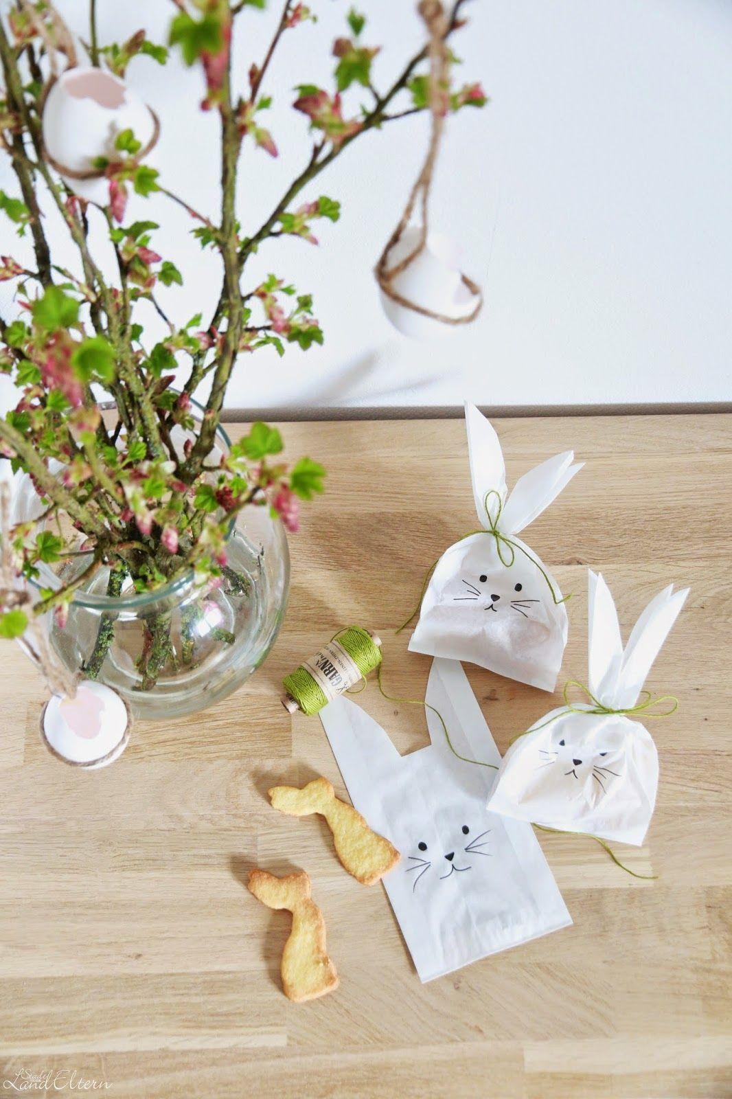 hasensäcklein aus brotpapier selbermachen. eine hübsche geschenkidee