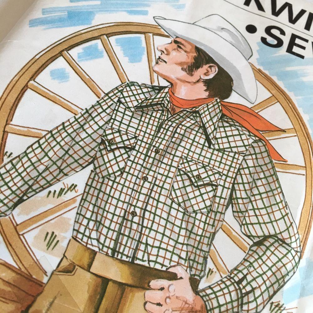 Vintage kwik sew mens western shirt sewing pattern 458 sz 42 46 vintage kwik sew mens western shirt sewing pattern 458 sz 42 46 instructions jeuxipadfo Images