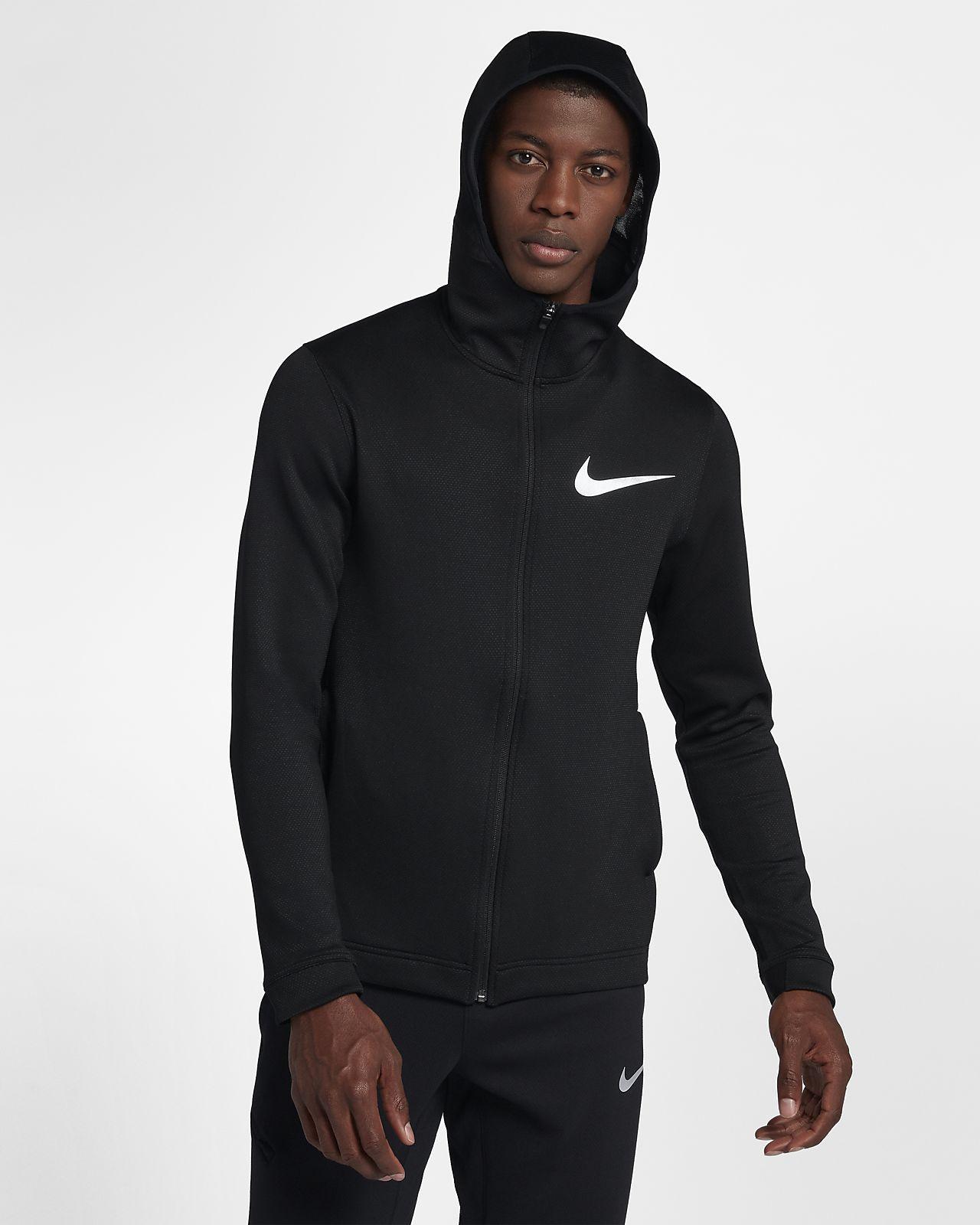 975d2e0e5 Sweat à capuche de basketball entièrement zippé Nike Therma Flex ...
