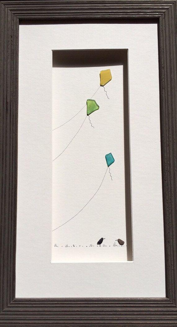 Sea Glass Bird Houses By Sharon Nowlan Sea Glass Crafts Sea Glass Art Beach Glass Crafts